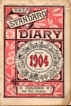1904 Diary Frontispiece