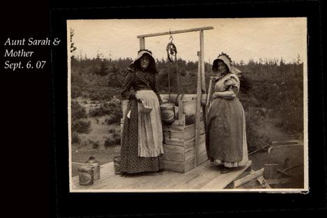 Aunt Sarah and Ma