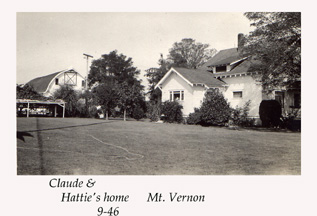 Claude & Hattie's home