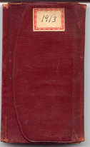 1913 Diary Cover