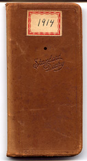 1914 Diary Cover