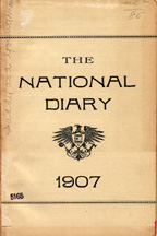 1907 Diary Frontispiece
