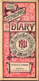 1911 Diary Frontispiece