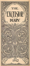 1912 Diary Frontispiece