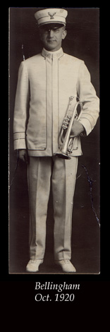 Fred in Band Uniform
